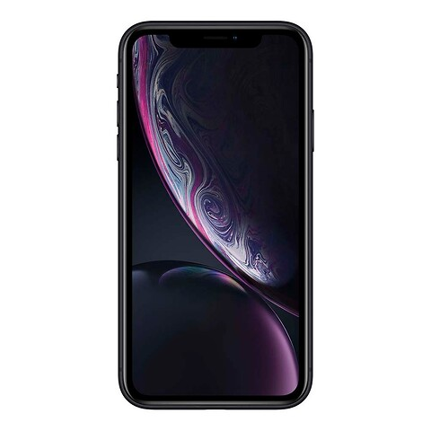 Apple iphone xr 64GB (sort) - grade b - mobiltelefon