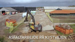 Bygningsentreprenør RTE udfører asfaltarbejde i Nørresundby
