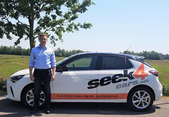 Ny salgskonsulent hos Seek4Cars A/S - Daniel Bøgh Jensen