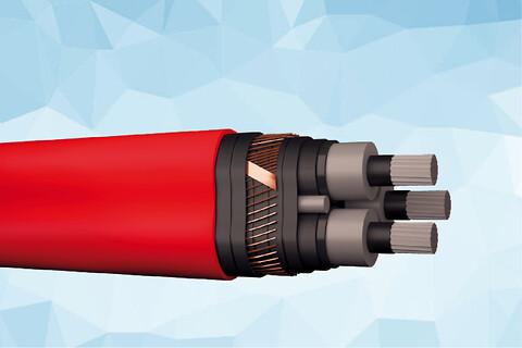 PEX-AL-LT 12 kV halogenfri elforsyningskabel