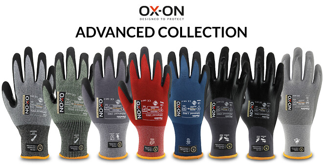 OX-ON Advanced Collection. Handsker til professionelle.