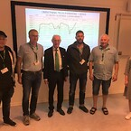 Employees from TESS Denmark meeting Erik Jølberg, founder and owner of TESS