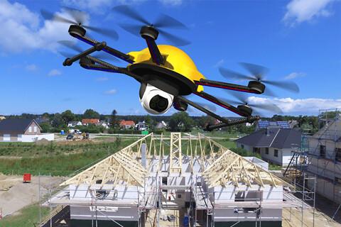 Foto- og video-produktion med droner