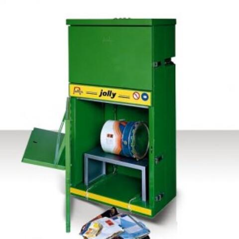 Jolly Pneumatisk presser til papir og dåser