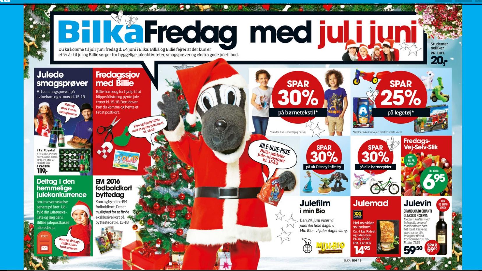 Bilka fejrer jul RetailNews