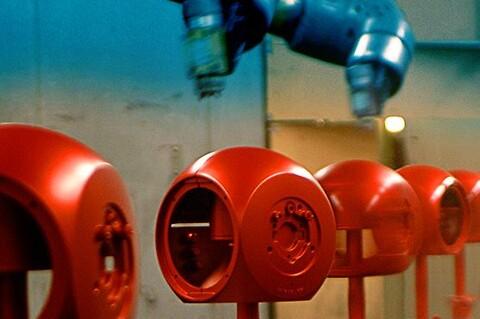 John Bjerrum Nielsen A/S tilbyder industrilakering og overfladebehandling af emner.
