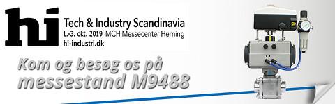 Dansk Ventil Center A/S udstiller på HI-messen