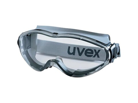 Sikkerhedsbrille ultrasonic goggle klar - uvex