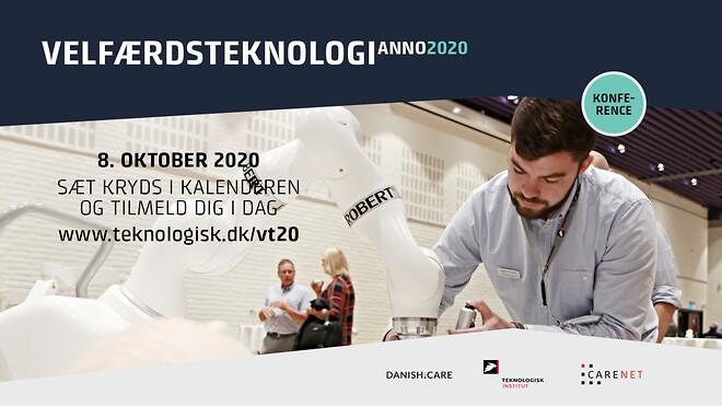Velfærdsteknologi anno 2020 8. oktober i Odense