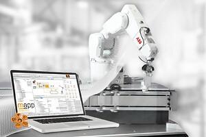 ABB og B&R, SPS 2019, integrerede løsning, robot