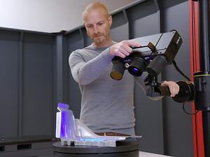 3D scanning med ATOS Q
