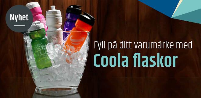 Fyll på ditt varumärke med coola vattenflaskor