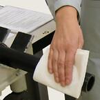 PE-rør og fittings rengøres før svejsning