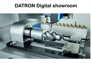 Datron \ndigital showroom\nhigh speed milling\ncnc machine\ncnc Tools