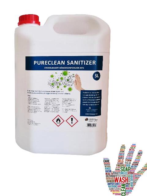 Kampanje desinfeksjon: flytende, gel og surface