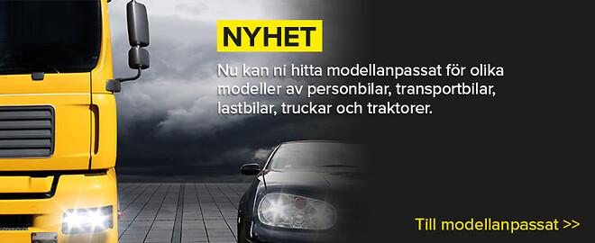 Modellanpassad fordonsbelysning