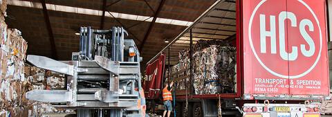 HCS tilbyder miljøvenlige recycling løsninger - tjen penge på dit pap, papir og plast affald - HCS tilbyder miljøvenlige recycling løsninger - tjen penge på dit pap, papir og plast affald