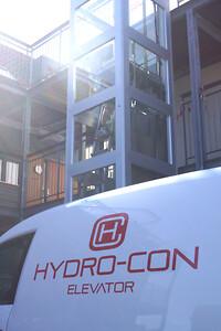 Elevator nedtagning & nyopsætning | HYDRO-CON Elevator A/S