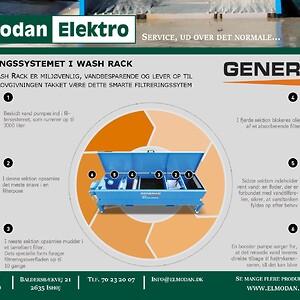 Wash Rack 2018 Filtreringssystem