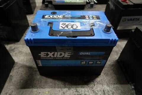Batteri exide 12V 80 ah