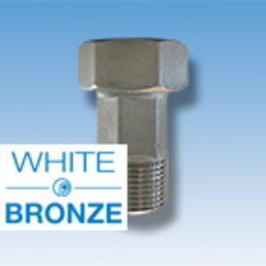 Vandmålerforskruningerne fra Pettinaroli har en nikkelfri og blyfri overflade kaldet White Bronze - Lys rødgods