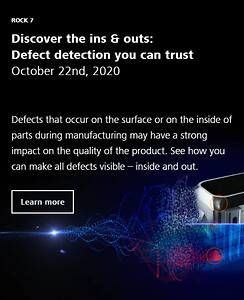 ZEISS Innovation Rocks, defect detection, X-ray