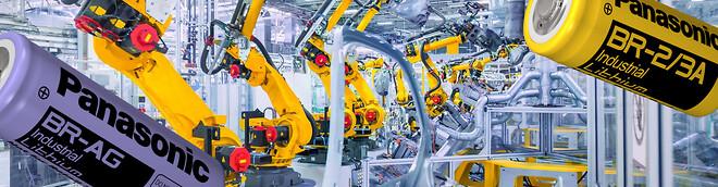Batterier til CNC maskiner og robotfunktioner