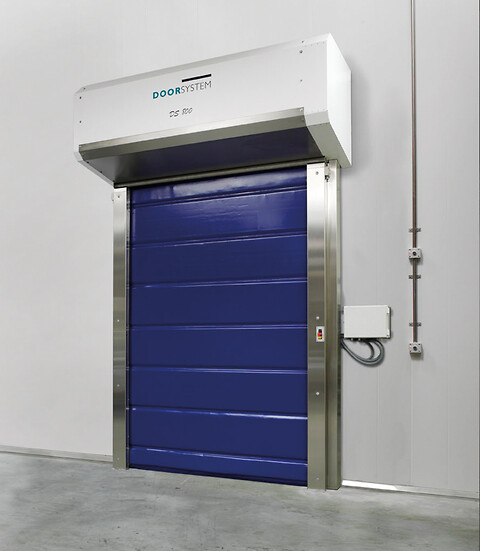 DS800 hurtigport til frostrum  - Door System DS800 hurtigport