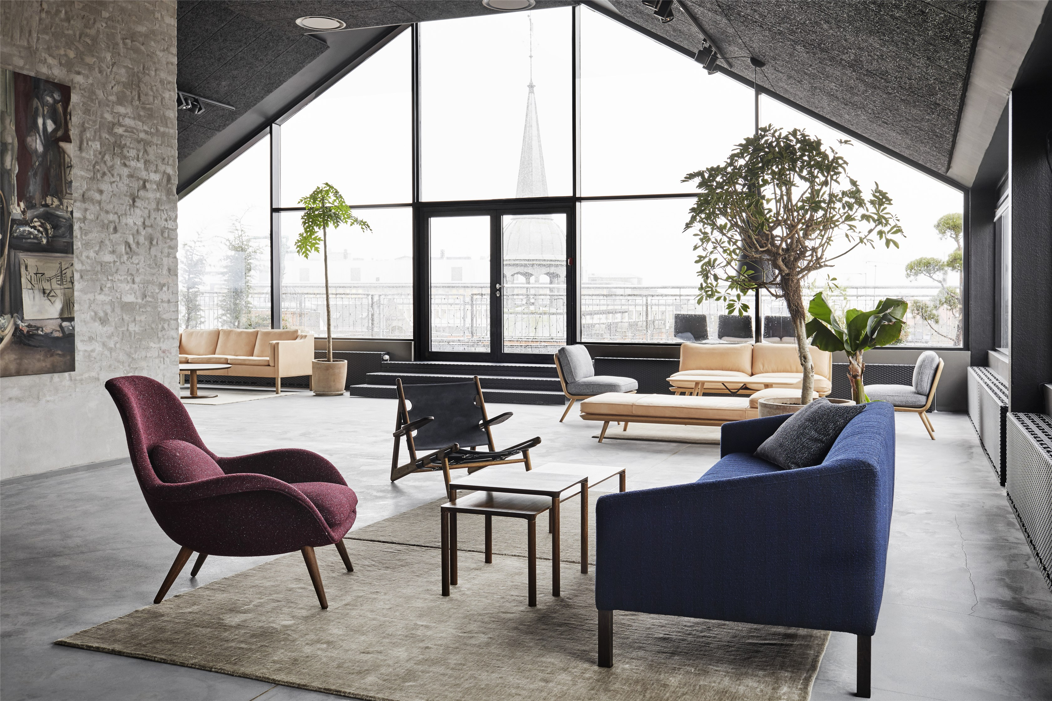 Fredericia Opens New Rooftop Showroom