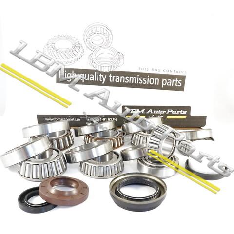 Lagersatser till manuella växellådor, Renault, Nissan och Opel.  - Renoveringskit växellåda