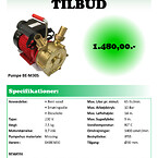 Pumpe BE-M30S - Tall Ship Tilbud