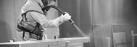 Glasblæsning af rustfri stål i døgndrift kontakt Lars Broe Rustfri stål - Glasblæsning af rustfri stål