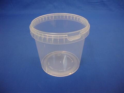 Plastbøtte 5141 - 2300 ml.- klar