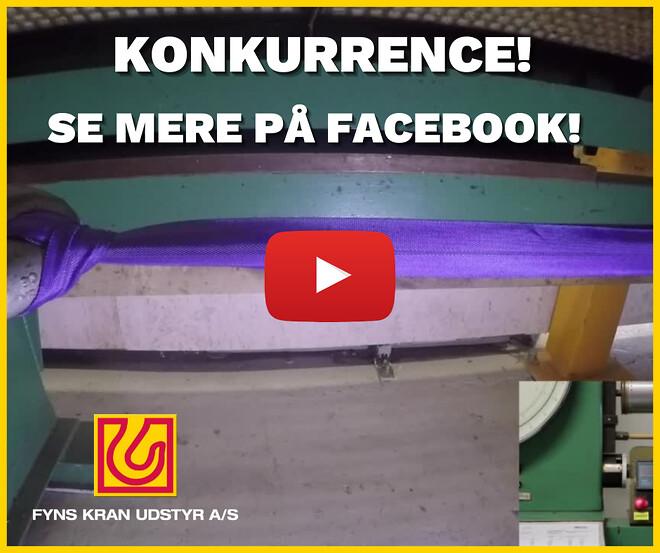 Konkurrence på Facebook - Fyns Kran Udstyr A/S