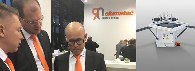 Besøg elumatec alumimiumsmaskiner på Fensterbau Frontale 2020