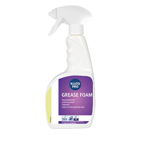 Kiilto Grease Foam Spray - klar-til-brug rengøring til ovne.