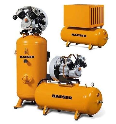 KAESER KOMPRESSORER:  Stempelkompressorer fra EUROCOMP - serien