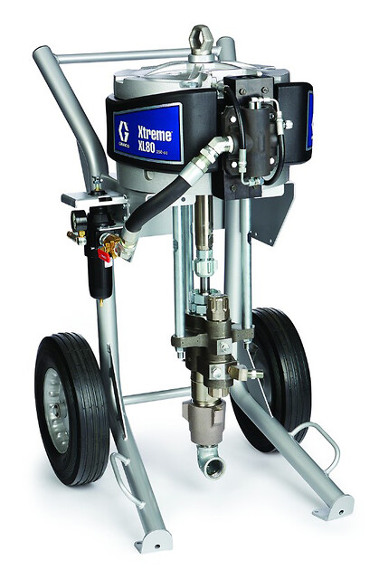 Graco xtreme xl Malepumpe fra Norclean AS
