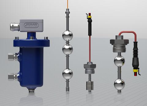 Med produktserien JUMO NESOS introducerar JUMO enheter för flottörnivåmätning - Flottörmätning