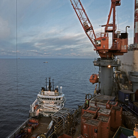 Offshore crane operator stage 2
