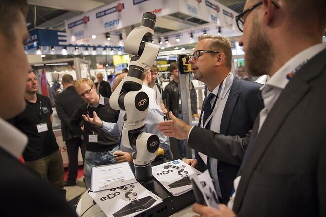 Robotterne indtager hi-messen