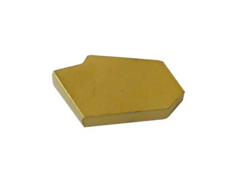 10 stk stikplatter 3 mm til stikstålholdere