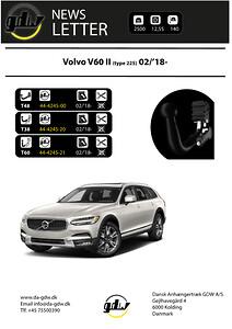 Volvo V60 Dragkrok fron GDW