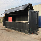 20 fods hydraulik container