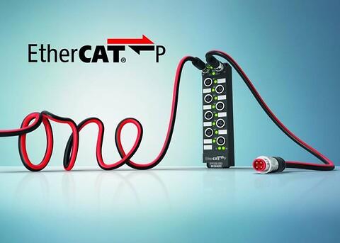 EtherCAT P - Ultra-rask kommunikasjon og power i én kabel