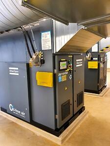 Turboblåsmaskiner med varvtalsstyrning från Atlas Copco