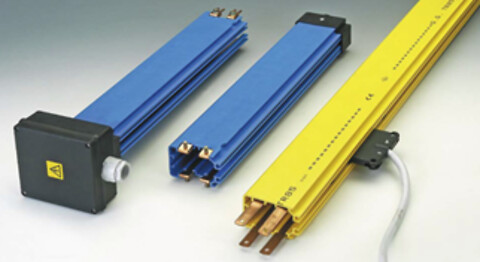 Lukkede strømskinner til sikker energi- og datatransmission