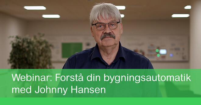 Tilmeld dig Johnny Hansens webinar