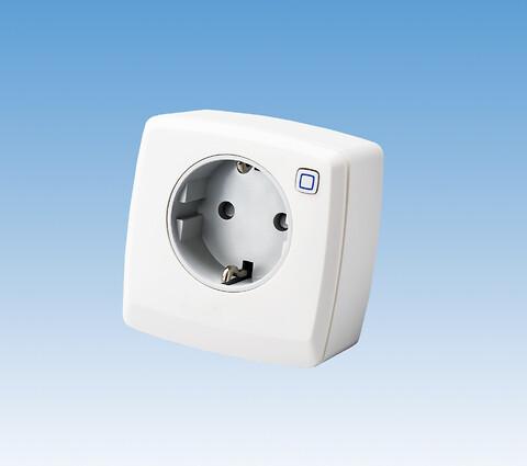 COMFORT IP repeater/stikkontakt - Repeater/stikkontakt til gulvvarmesystemet COMFORT IP, 230V.  Repeateren kan anvendes som antenne og dermed forstærke kommunikationen mellem de tilsluttede enheder i COMFORT IP-serien f.eks. forbindelsen mellem styreboks og rumtermostater. Har man udfordringer med forbindelsen mellem access point og styreboks (SmartHome løsningen) kan repeateren også i dette tilfælde afhjælpe for udfald i forbindelsen mellem enhederne.