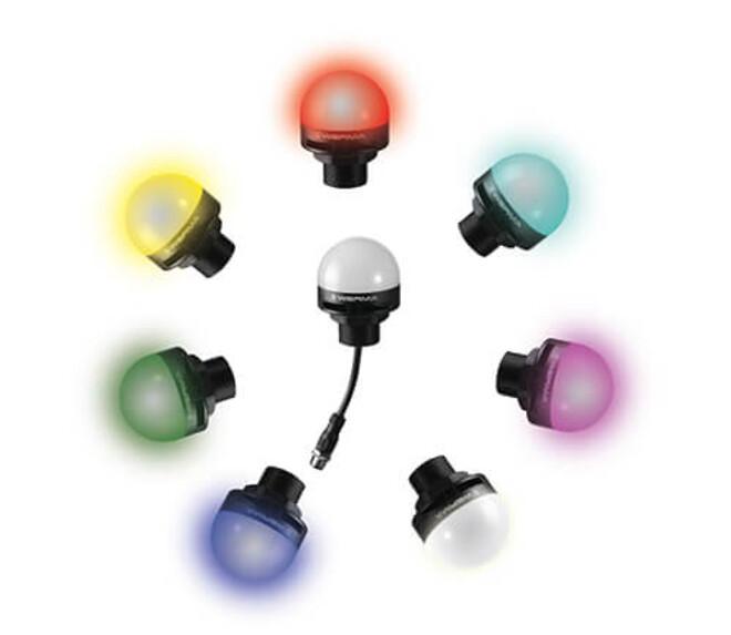 multi cokour lampe